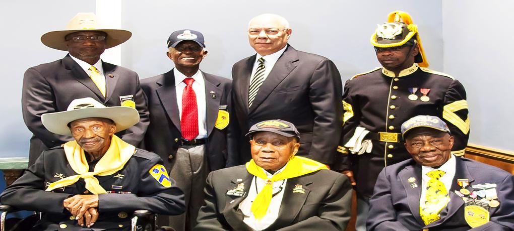 Original Troopers- Natl Pres (Present/Past) - GEN Powell - Chap Pres