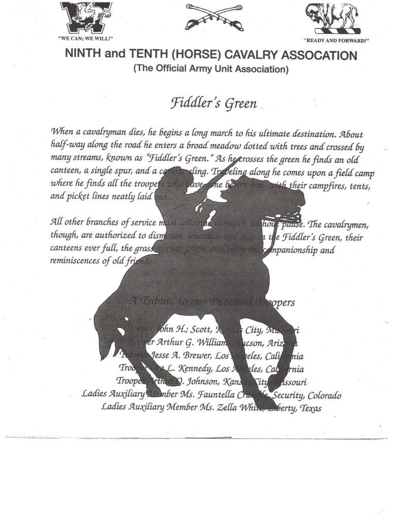 Fiddler's Green poem