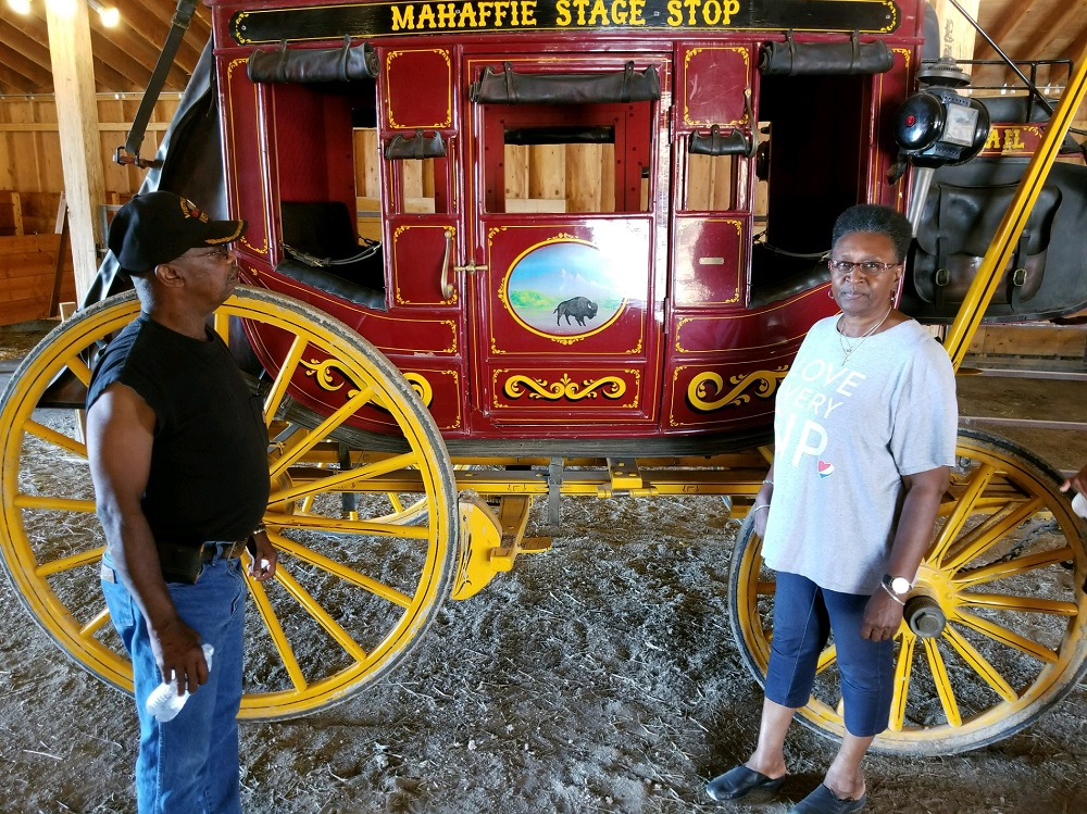 Mahaffey Stagecoach Wild West Days